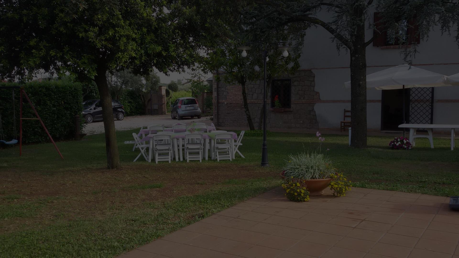Casale Ansamagi parcheggio