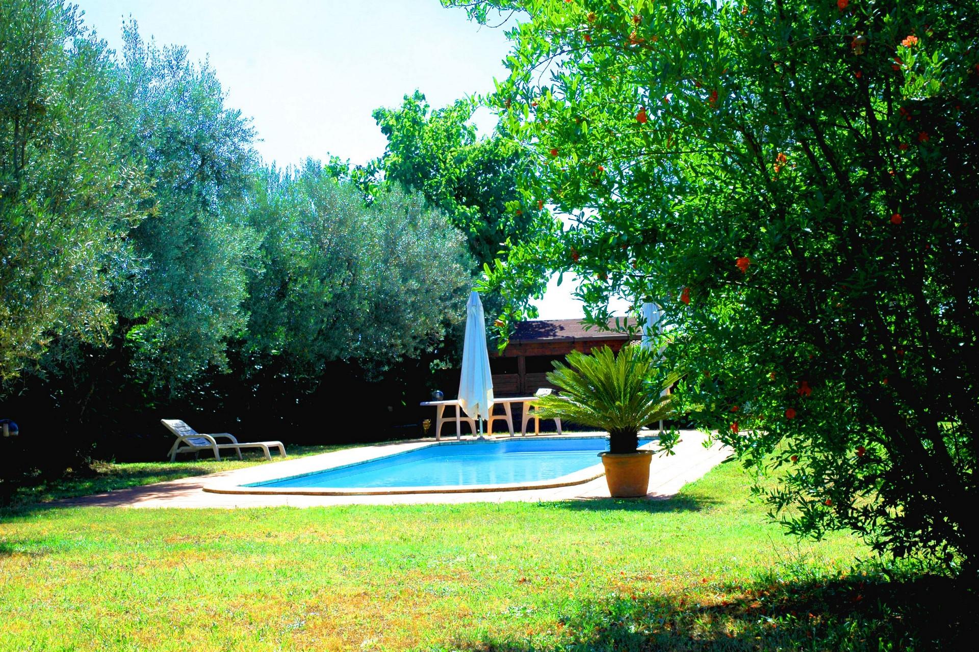 Giardino D'estate Casale Ansamagi Genzano di Roma